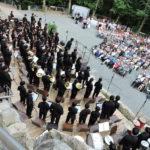 Koreanisches Orchester auf der Naturbühne Schönberg