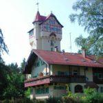 Wasserturm mit Altem Forsthaus