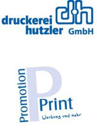 Logo Druckerei Hutzler u. Promotion and Print