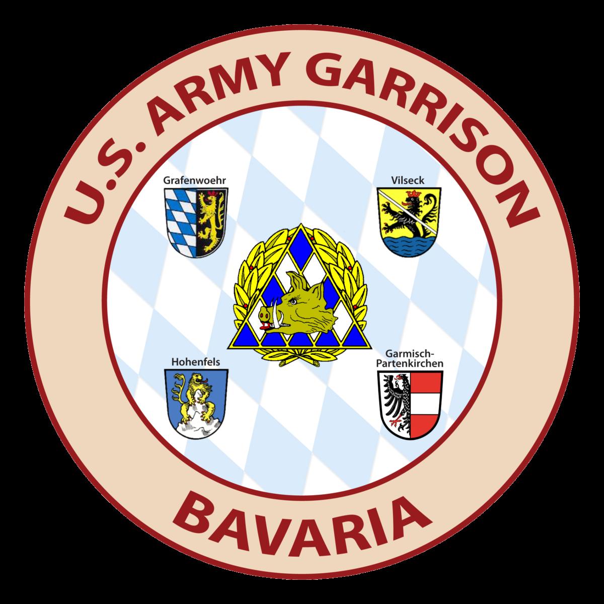 Logo US-Garnison Bavaria