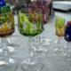 Kristallrömer Wein und Schnaps