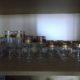 Edle Gläser mit Goldrandverzierung