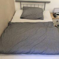 Bett mit Matratze und Lattenrost 1,20m x 2,00m