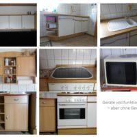 Div. Teile einer Einbauküche / Geräte